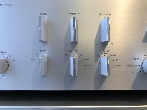 新製品YAMAHAセパレートアンプ「C-5000」&「M-5000」を展示導入致しました!_c0113001_11304470.jpeg