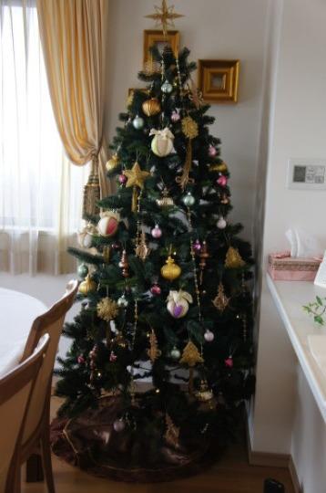 【テーブルコーディネート教室で素敵なクリスマスツリー】_f0215714_16385422.jpg