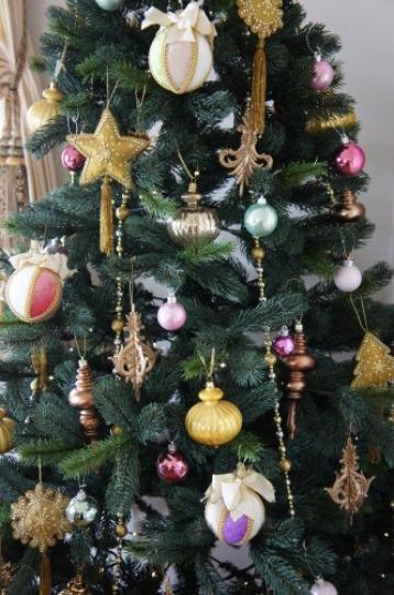 【テーブルコーディネート教室で素敵なクリスマスツリー】_f0215714_16391208.jpg