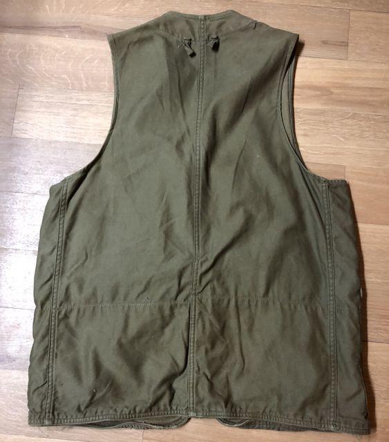 アメリカ仕入れ情報#43 12/22入荷! 50s ハーフムーン American Field Hunting Vest  ハンティング ベスト_c0144020_13432652.jpg