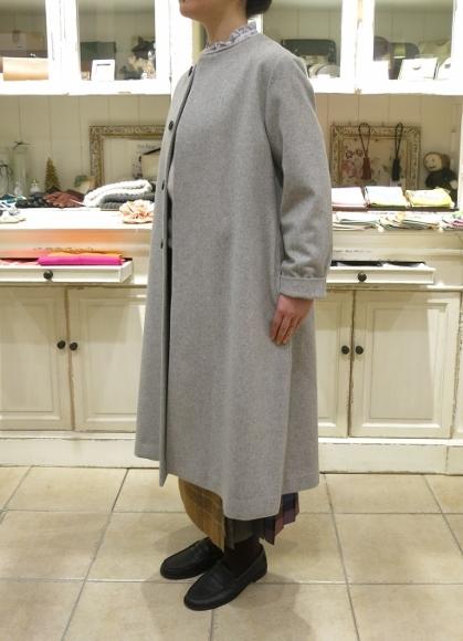 お正月のお出かけには、3柄を合わせたキルトスカートで・・・_c0227633_15392573.jpg
