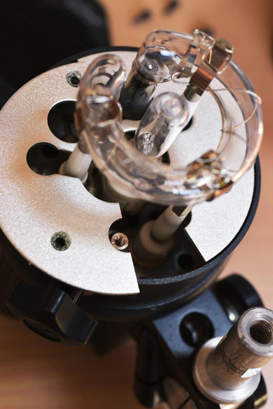 ストロボヘッド修理 COMET CLX-25miniH_b0175635_10122796.jpg