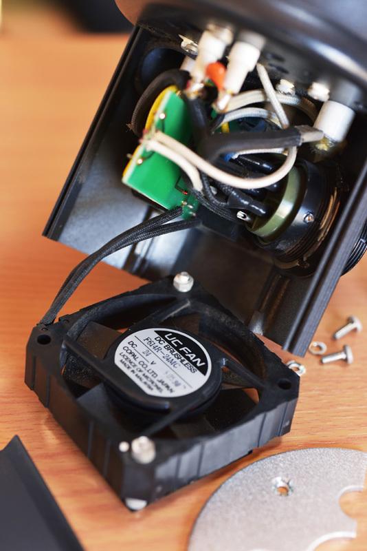 ストロボヘッド修理 COMET CLX-25miniH_b0175635_10123201.jpg