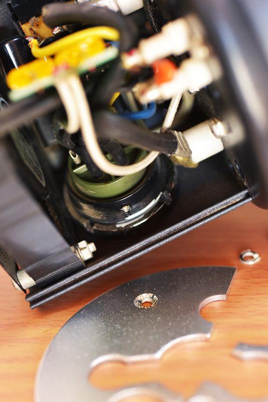 ストロボヘッド修理 COMET CLX-25miniH_b0175635_10123493.jpg