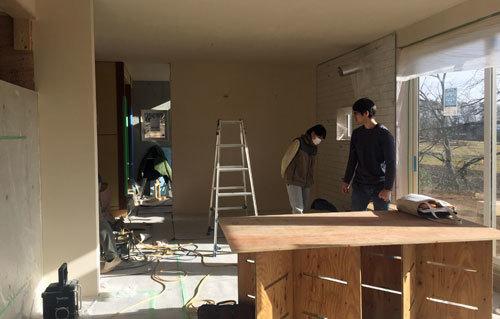 DIY工事/八ヶ岳富士見町 K邸/乙事のOKA_c0089242_07260138.jpg