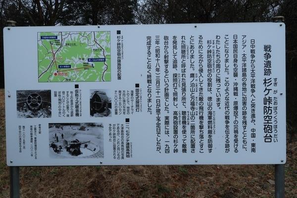 杉ケ峠防空砲台跡_c0332548_17314480.jpg