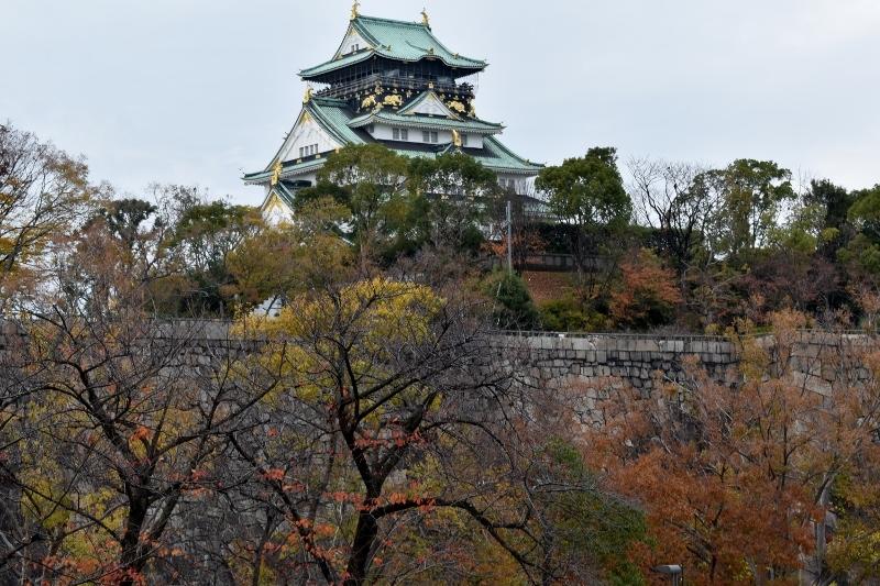 晩秋の大阪城 3_a0355356_13521054.jpg