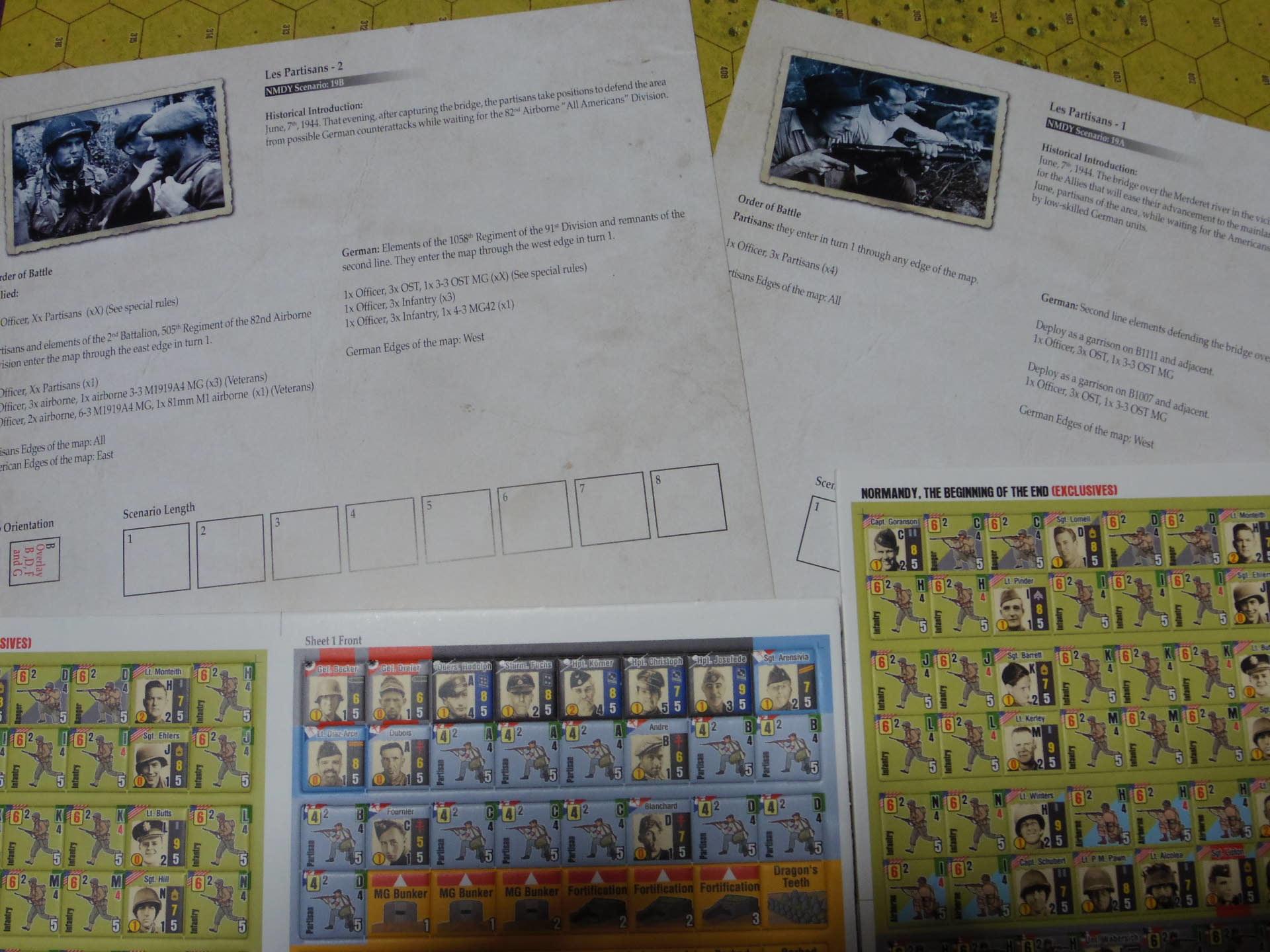 俺をそんなに喜ばすやつがあるか!! (Draco Ideas)Normandy:The Beginning of the Endの初期出資者特典シナリオ「レジスタンス1、2」の為のオスト大隊ユニット_b0173672_22300541.jpg
