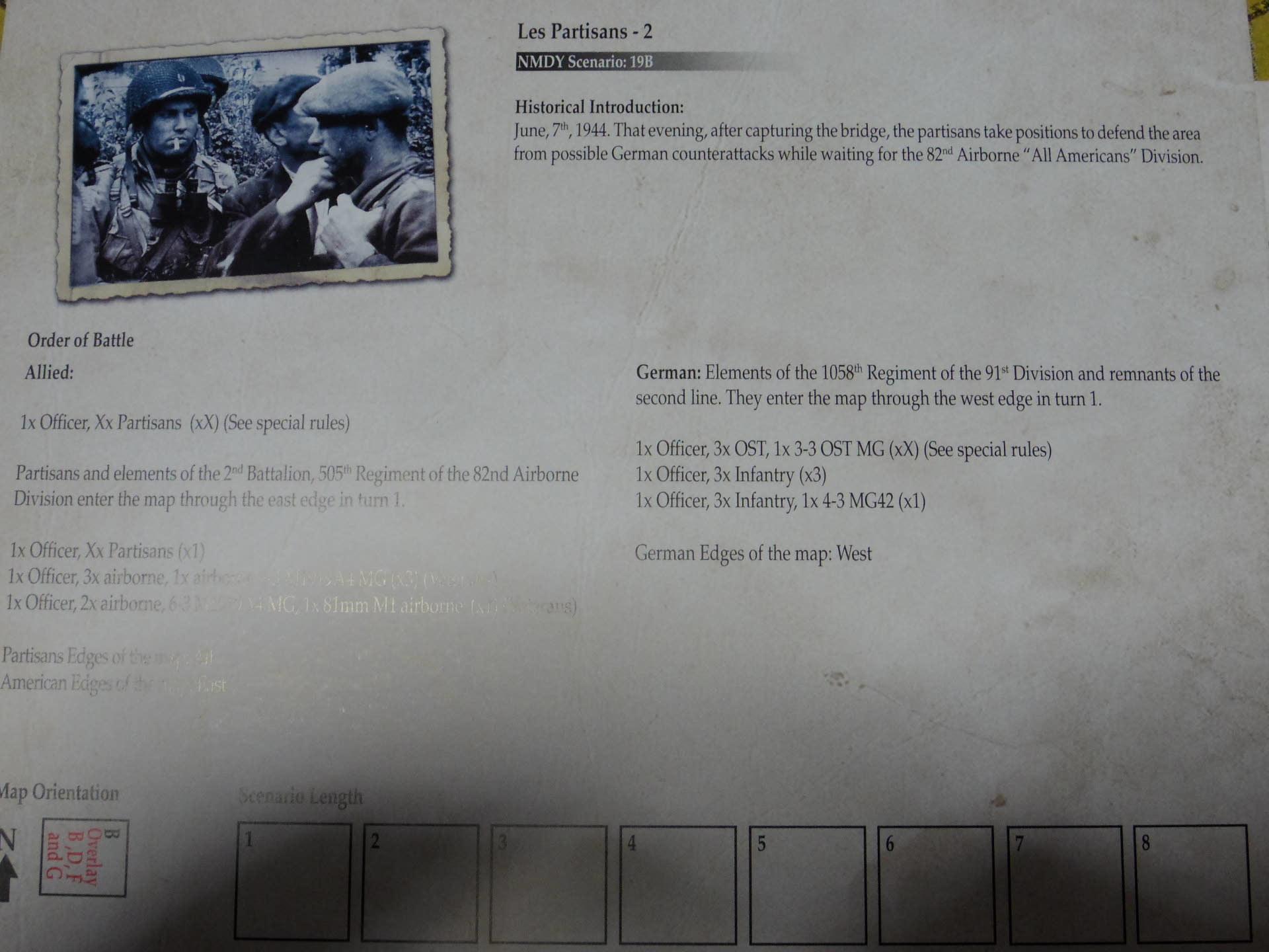 俺をそんなに喜ばすやつがあるか!! (Draco Ideas)Normandy:The Beginning of the Endの初期出資者特典シナリオ「レジスタンス1、2」の為のオスト大隊ユニット_b0173672_22300742.jpg