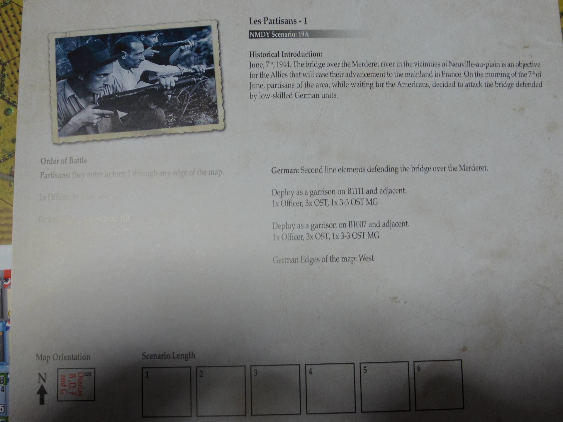 俺をそんなに喜ばすやつがあるか!! (Draco Ideas)Normandy:The Beginning of the Endの初期出資者特典シナリオ「レジスタンス1、2」の為のオスト大隊ユニット_b0173672_22305863.jpg