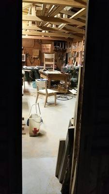 ブラックチェリーとクリの椅子!_d0165772_19523990.jpg