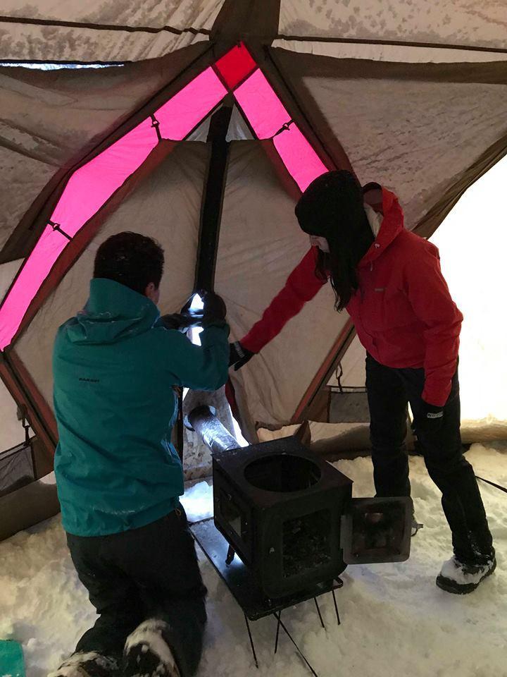 定山渓自然の村で冬キャンプ!_d0198793_15080337.jpg