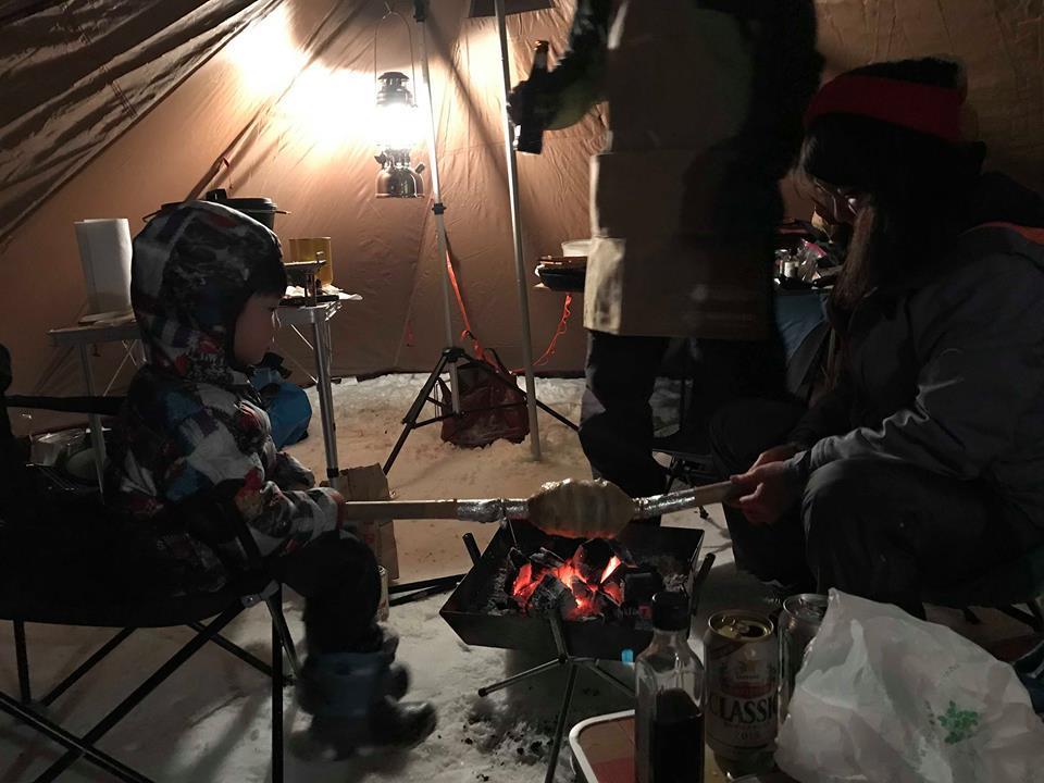 定山渓自然の村で冬キャンプ!_d0198793_15203964.jpg