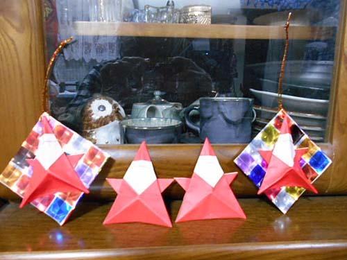 八宝菜&折り紙のサンタクロース_f0019498_08400298.jpg