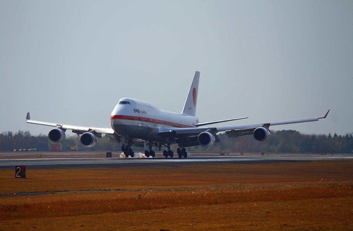日本国政府専用機。_b0044115_09273242.jpg