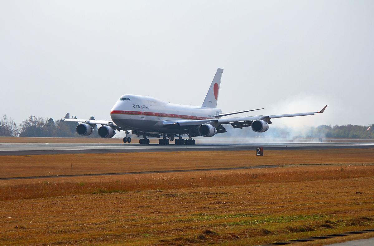 日本国政府専用機。_b0044115_09275952.jpg