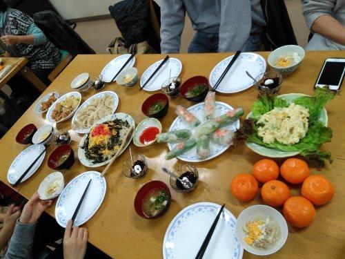 火曜朝 インターナショナルキッチン_e0175020_14265409.jpg