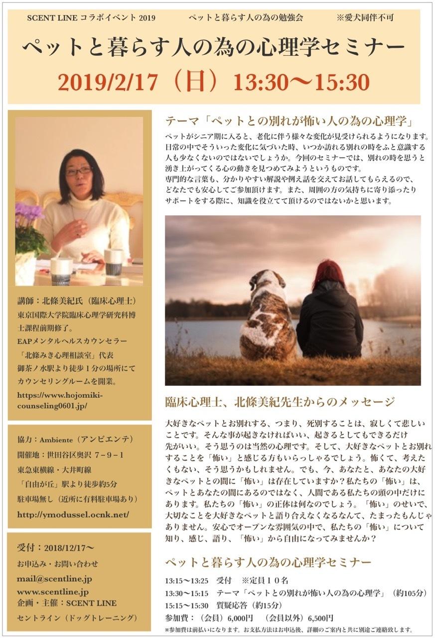 ペットと暮らす人の為の心理学セミナーのお知らせ_c0099133_06300346.jpg