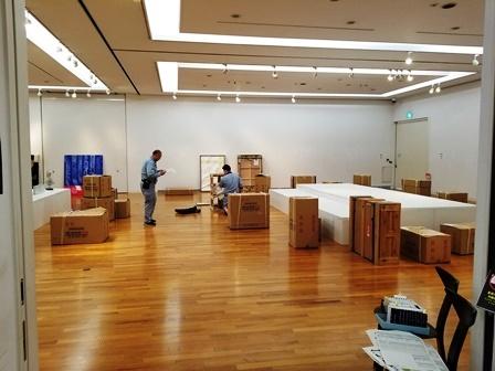 作業日誌(「第57回日本現代工芸美術展 山梨展」作品展示作業)_c0251346_16544508.jpg