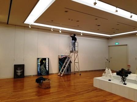 作業日誌(「第57回日本現代工芸美術展 山梨展」作品展示作業)_c0251346_16545242.jpg