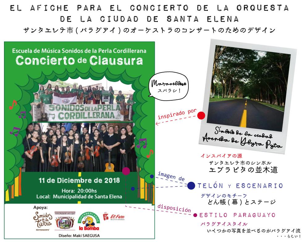 [Diseño para Paraguay] サンタエレナ市(南米_パラグアイ)のオーケストラ・コンサートのためのデザイン!_d0018646_02380954.jpg