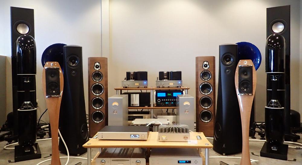 スピーカー Bayz audio Courante 試聴機入荷・HD AMP 再入荷。_b0262449_18200873.jpg