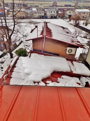 「浦佐びしゃもん亭」の屋根の水量調整に冷や汗を流しました_c0336902_21573084.jpg