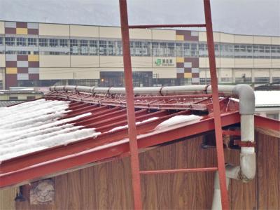「浦佐びしゃもん亭」の屋根の水量調整に冷や汗を流しました_c0336902_21573799.jpg