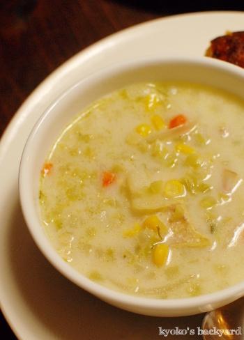 ブロッコリーパールのクリームスープ。ギラデリのカップケーキ・ブラウニー_b0253205_11575254.jpg