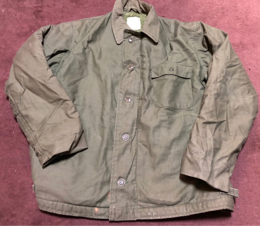 アメリカ仕入れ情報#50   U.S NAVY A-2 Deck Jacket !_c0144020_14082483.jpg