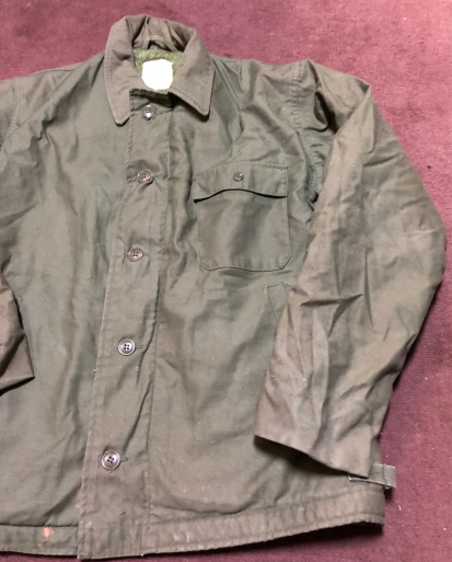 アメリカ仕入れ情報#50   U.S NAVY A-2 Deck Jacket !_c0144020_14083421.jpg