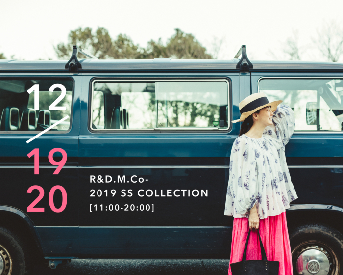 2019 R&D.M.Co- SS COLLECTION _e0083986_13285194.jpg