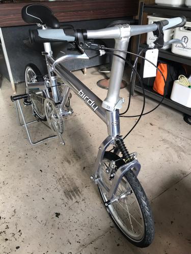 バーディー【ガラスコーティング】折り畳み自転車_d0351087_08360747.jpg