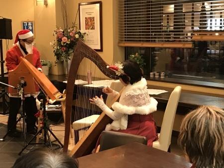クリスマス&冬にちなんだ名曲を、ヘルマンハープが奏でる癒しの音色でお届けします。_f0228188_13151497.jpg