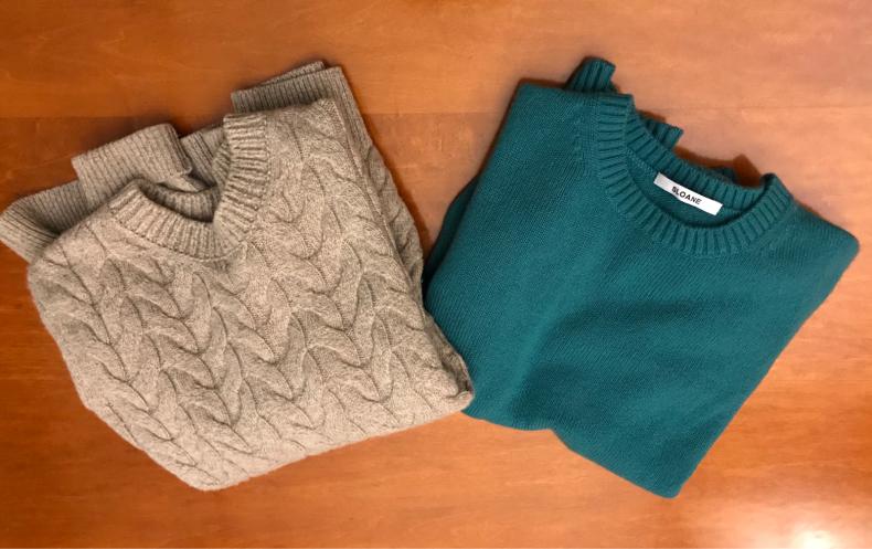 カシミアのセーターを洗濯してみた_f0378589_23245138.jpg
