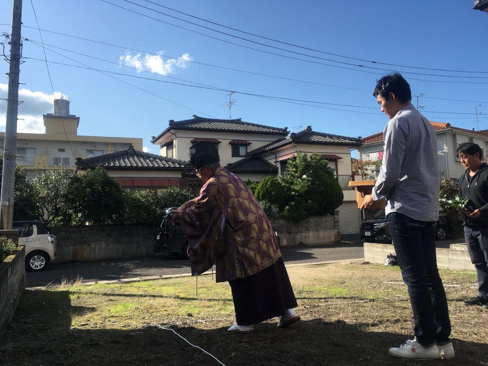地鎮祭から上棟まで 荻曽根の家_b0349892_11461467.jpg