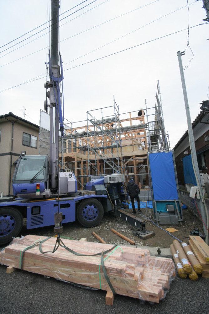 地鎮祭から上棟まで 荻曽根の家_b0349892_11480966.jpg