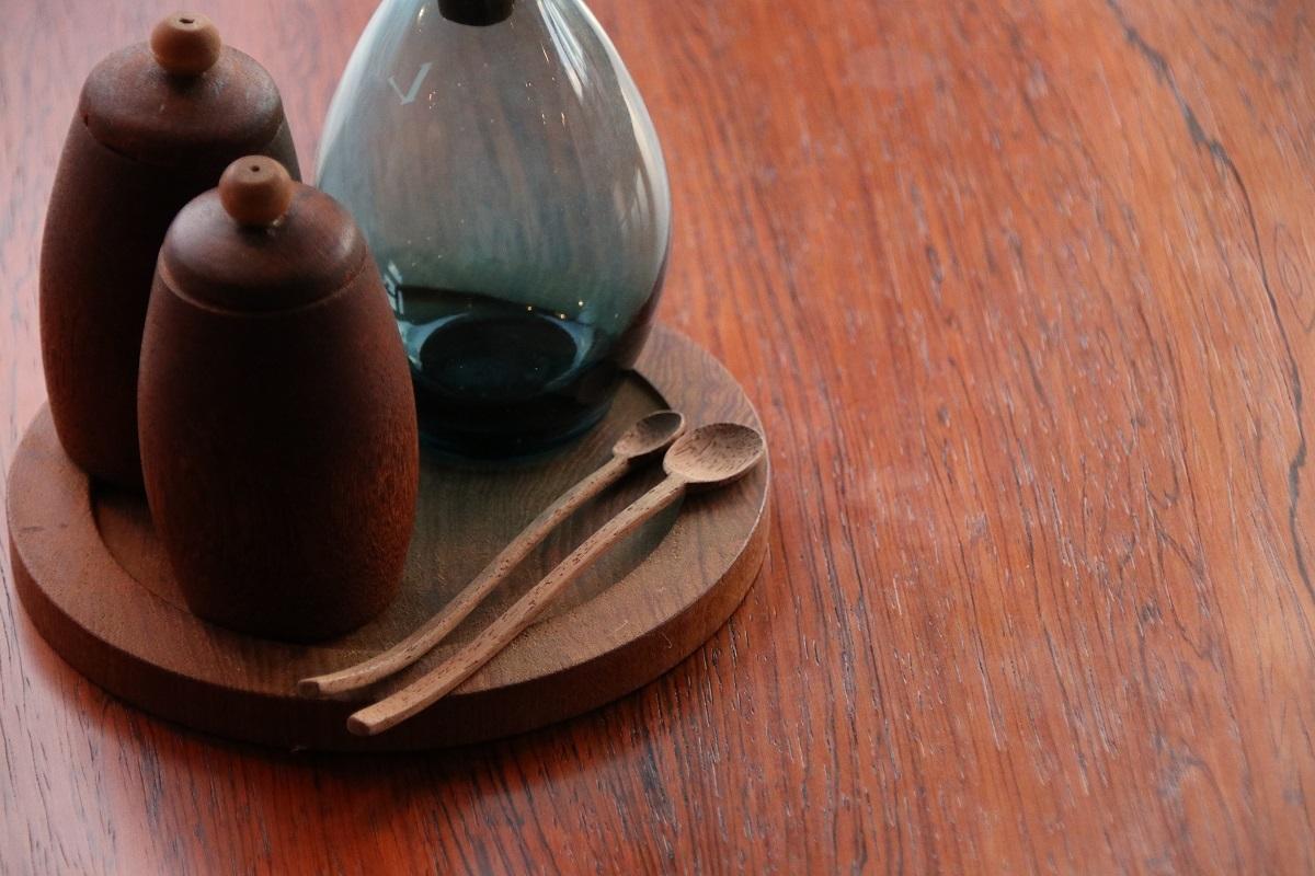 『Teak Glass Spice Bottle』_c0211307_15572890.jpg