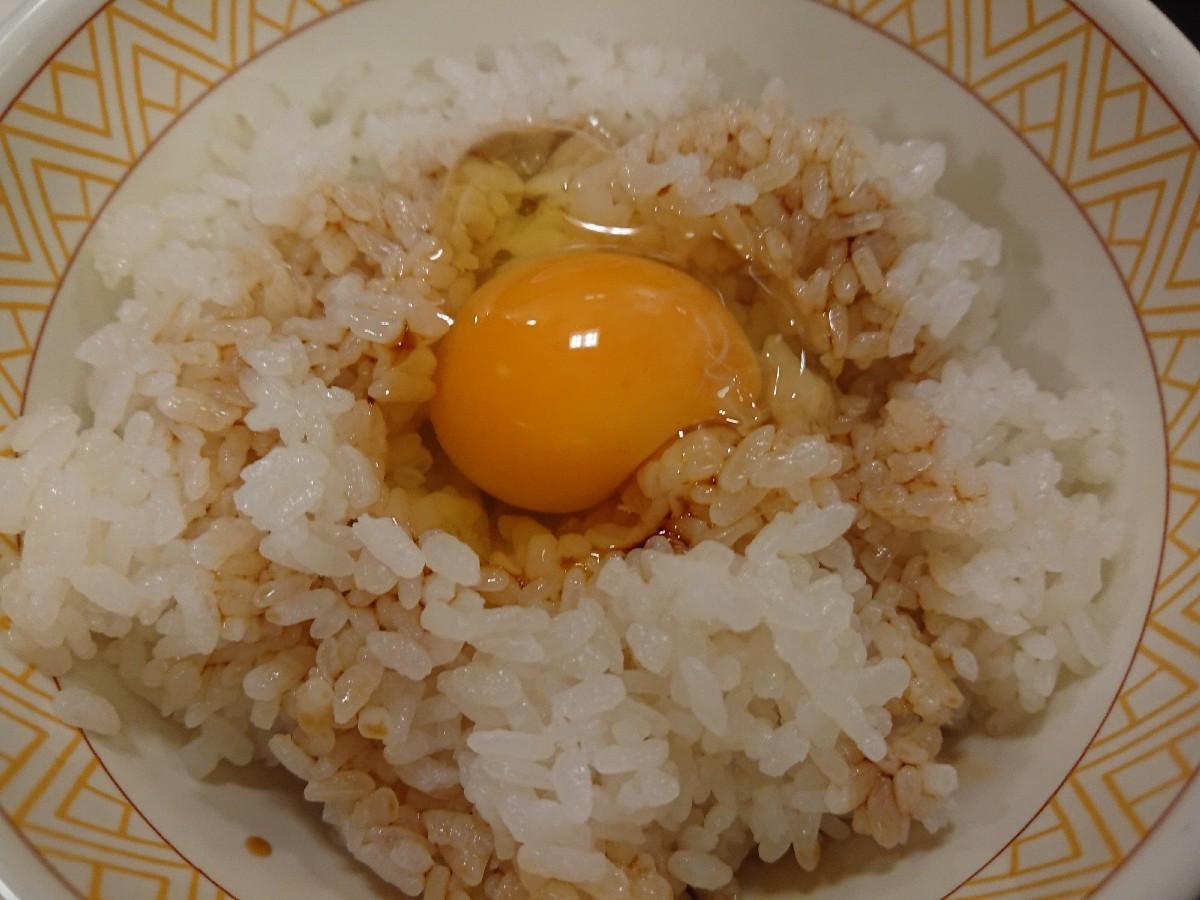12/20  カレー豚汁たまかけ朝食¥380@すき家_b0042308_06592148.jpg