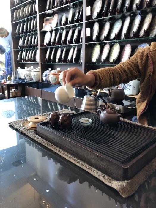 また香港お茶巡りの旅no.1@尖沙咀新星茶荘_a0169924_19533086.jpeg