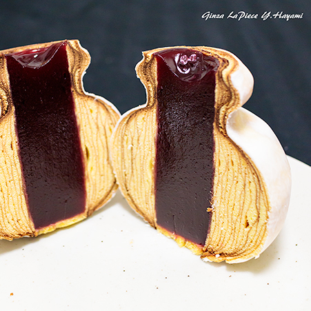 ウチメシグルメ 洋菓子ヴィヨン バウムクーヘン_b0133053_01302508.jpg