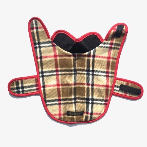 ILKARE Dog Jacket PLAID イルカレ ドッグジャケット プラッド_d0217958_1224187.jpg