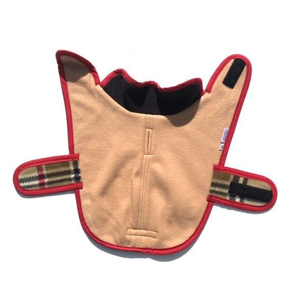 ILKARE Dog Jacket PLAID イルカレ ドッグジャケット プラッド_d0217958_1231518.jpg