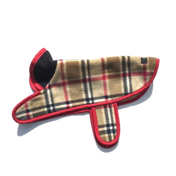 ILKARE Dog Jacket PLAID イルカレ ドッグジャケット プラッド_d0217958_123350.jpg