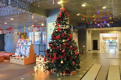 観光館のクリスマス装飾2018_d0131668_14221861.jpg