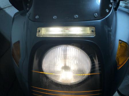 メンテナンスノート(R100RS編②)〜ポジションランプとタイヤ交換〜_d0358793_01283127.jpg