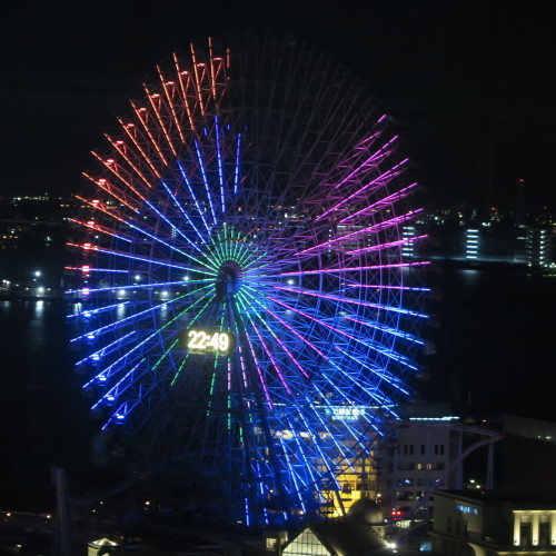 横浜みなとみらいの感動夜景・7_c0075701_19545496.jpg
