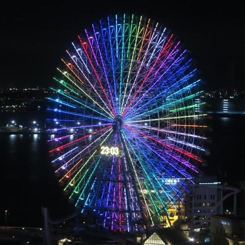 横浜みなとみらいの感動夜景・8_c0075701_20055397.jpg