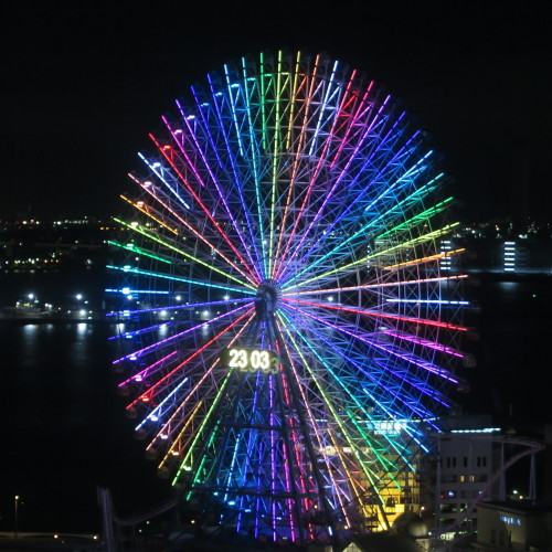 横浜みなとみらいの感動夜景・8_c0075701_20055651.jpg