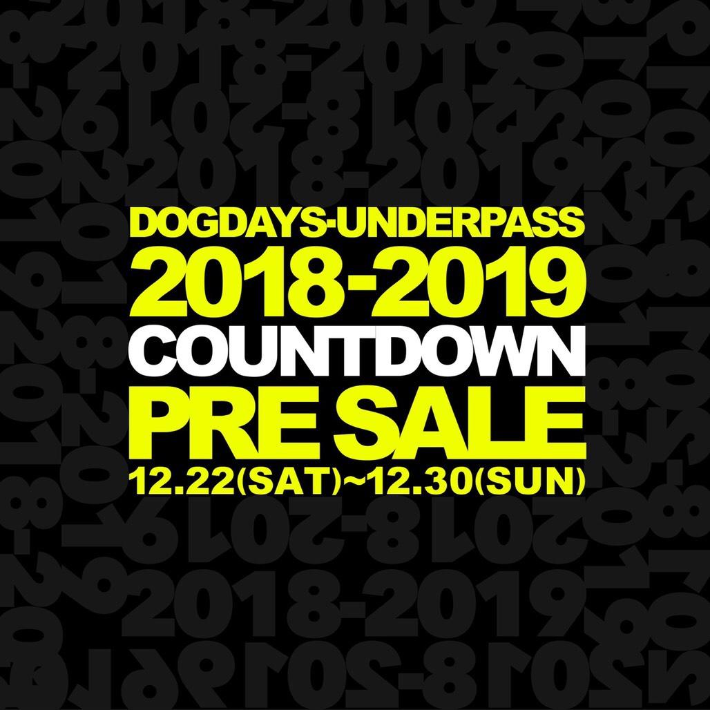 2018 COUNTDOWN PRE SALE_c0079892_18494746.jpg